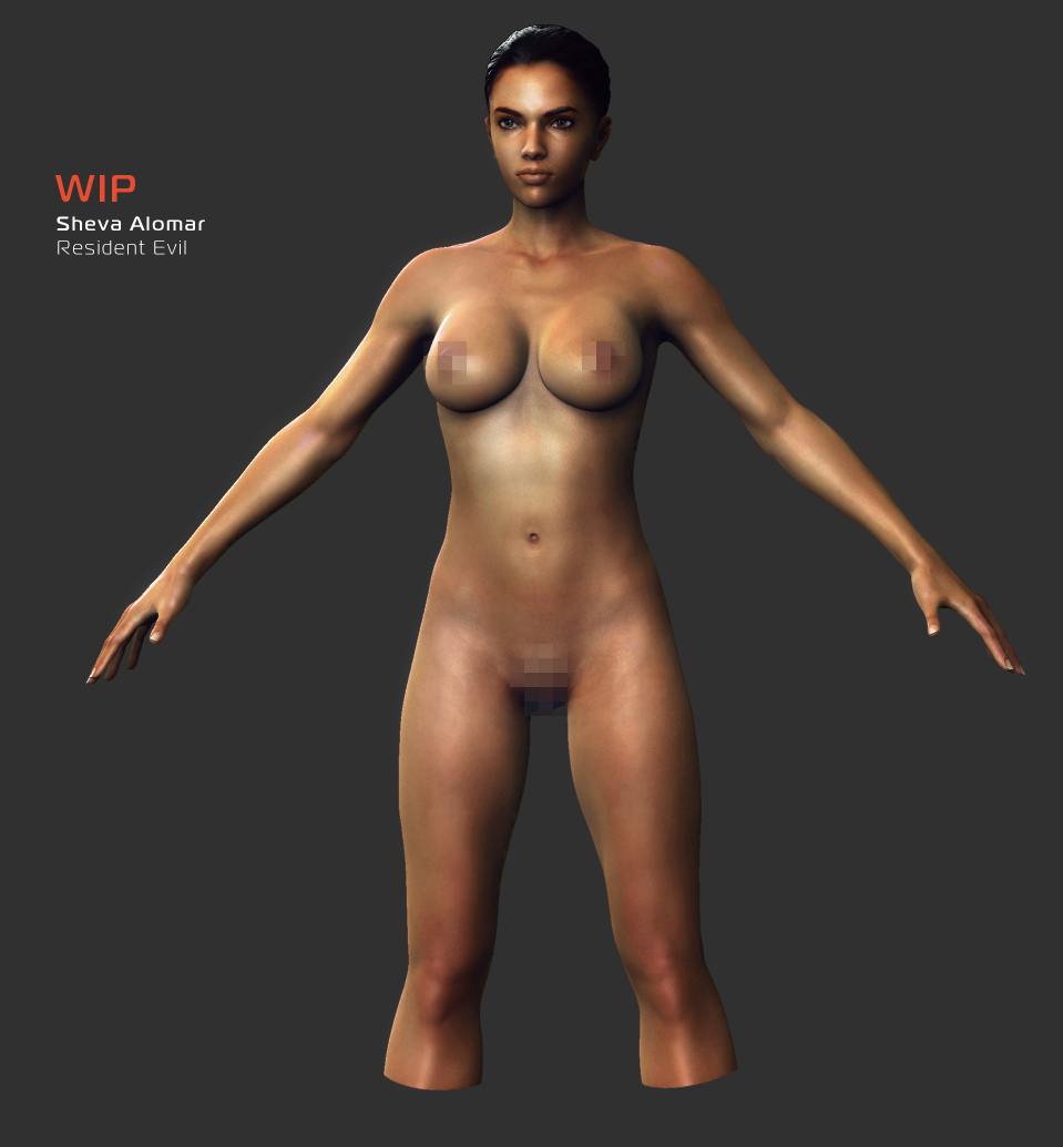 nude resident hd mod remaster evil Seikon no qwaser breast sucking