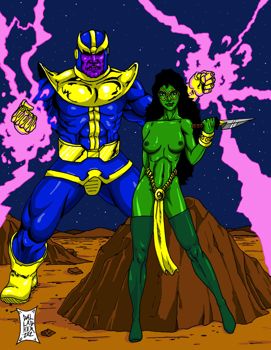 hentai of the guardians galaxy nebula Cheshire dc comics young justice