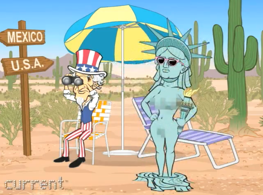 liberty of statue Wendy from gravity falls nude
