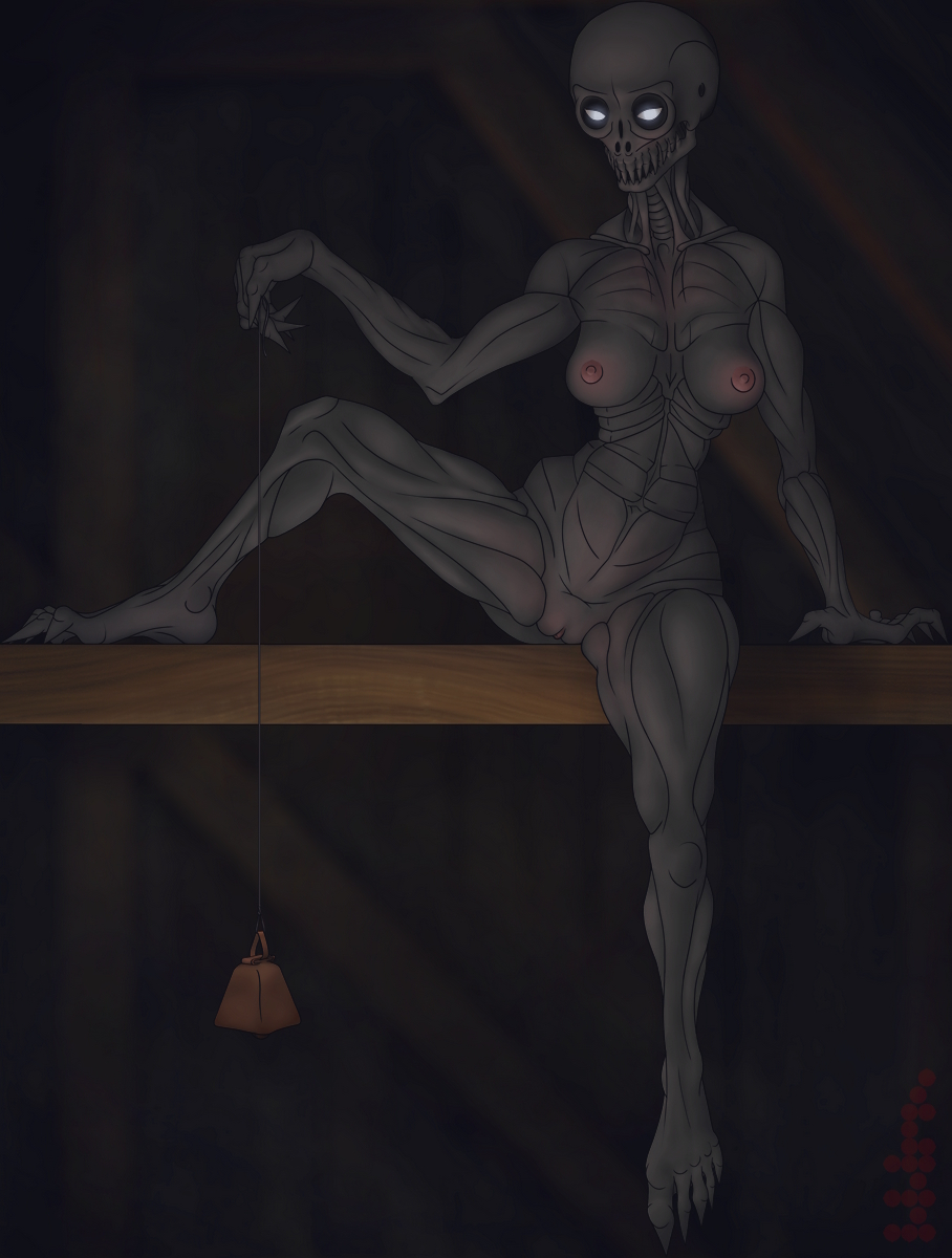 scp scp 079 breach containment Panty and stocking with garterbelt nudity