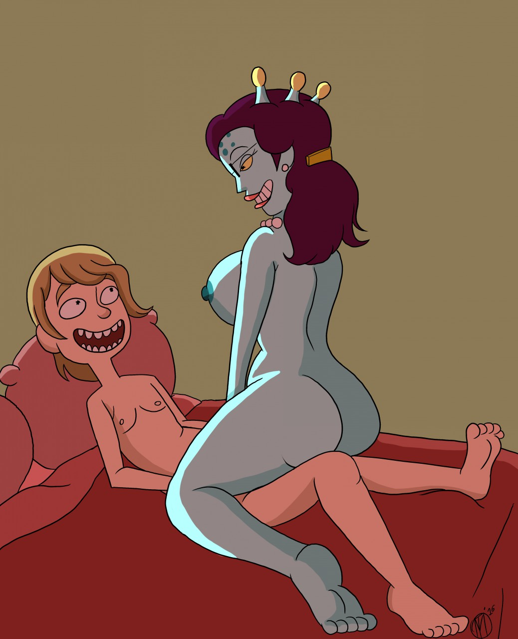 from and naked rick morty summer Crusty the cat chuck e cheese