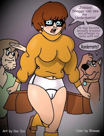meets doo brothers scooby boo King of fighters mai gif