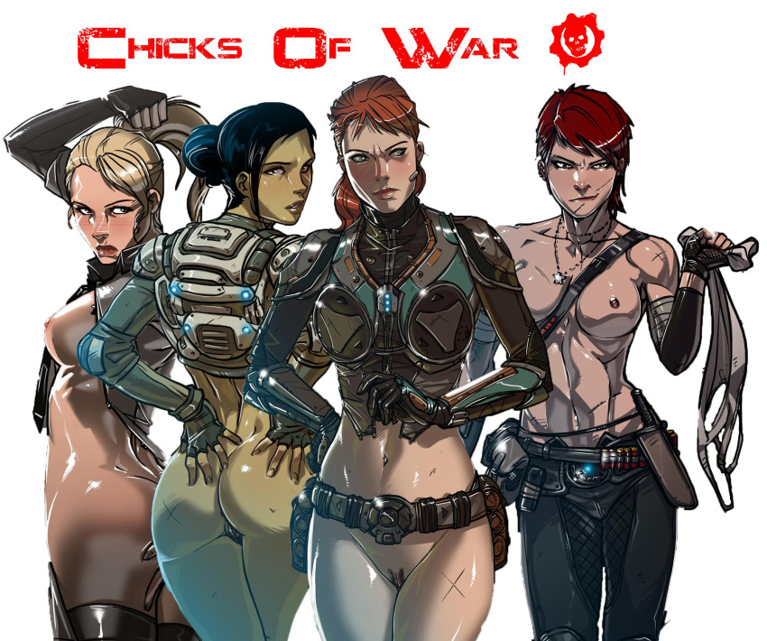 of gears nude war anya Fairly odd parents back to the norm