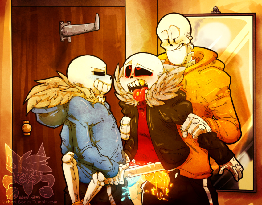 papyrus underfell x sans underfell Lord of the ring nude
