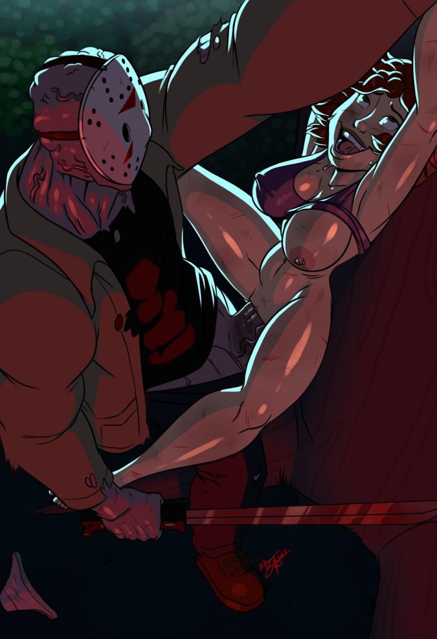 friday jason the porn 13th Devil may cry lady