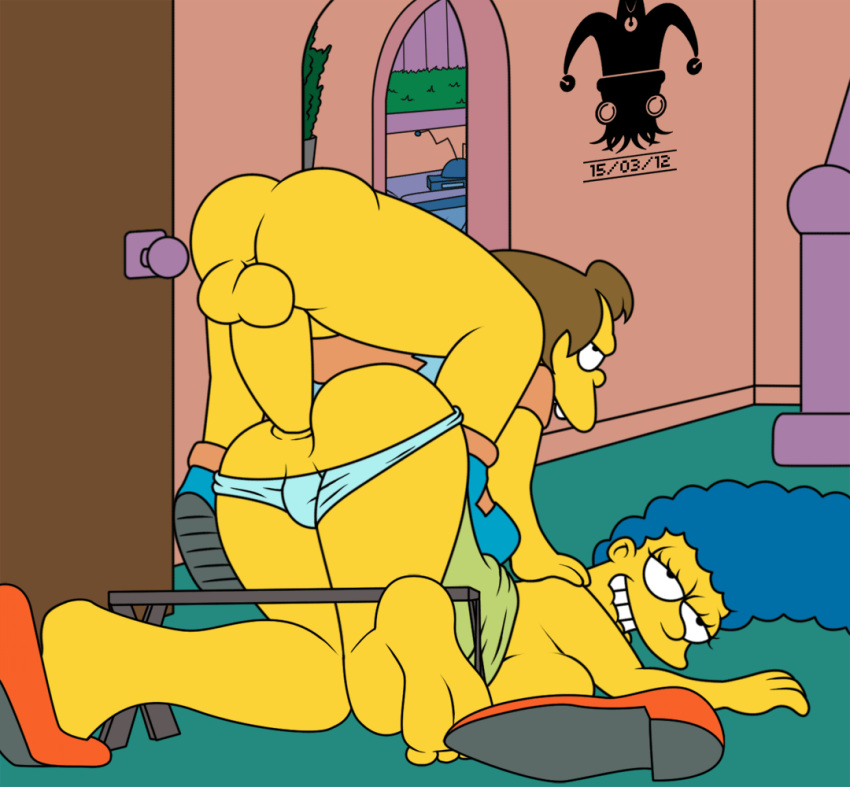 large scene simpsons marge deleted Shazza ty the tasmanian tiger