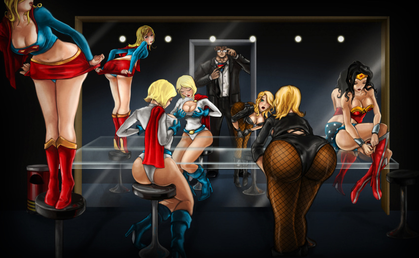 black zatanna kiss and canary Ben 10 and gwen have sex