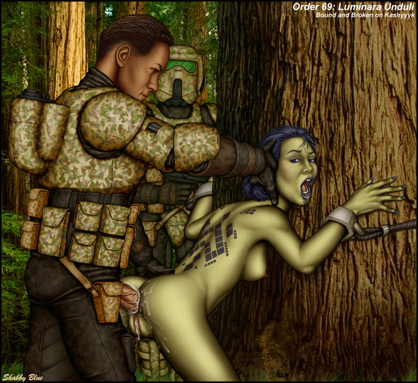 padme on geonosis blue shabby A fairytale for the demon lord