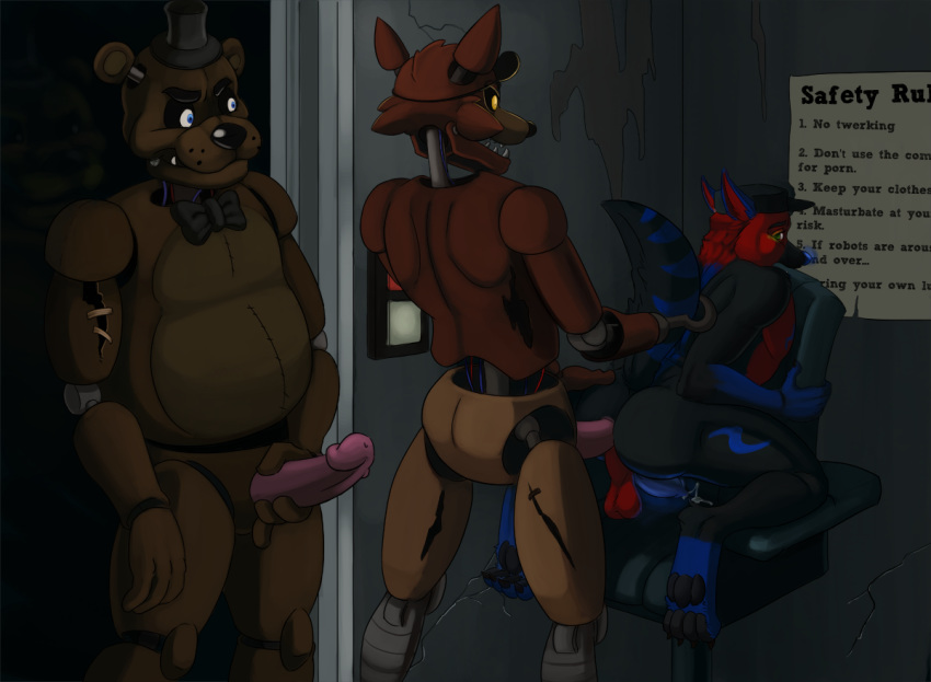 five the freddy's at puppet from nights Syri trials in tainted space
