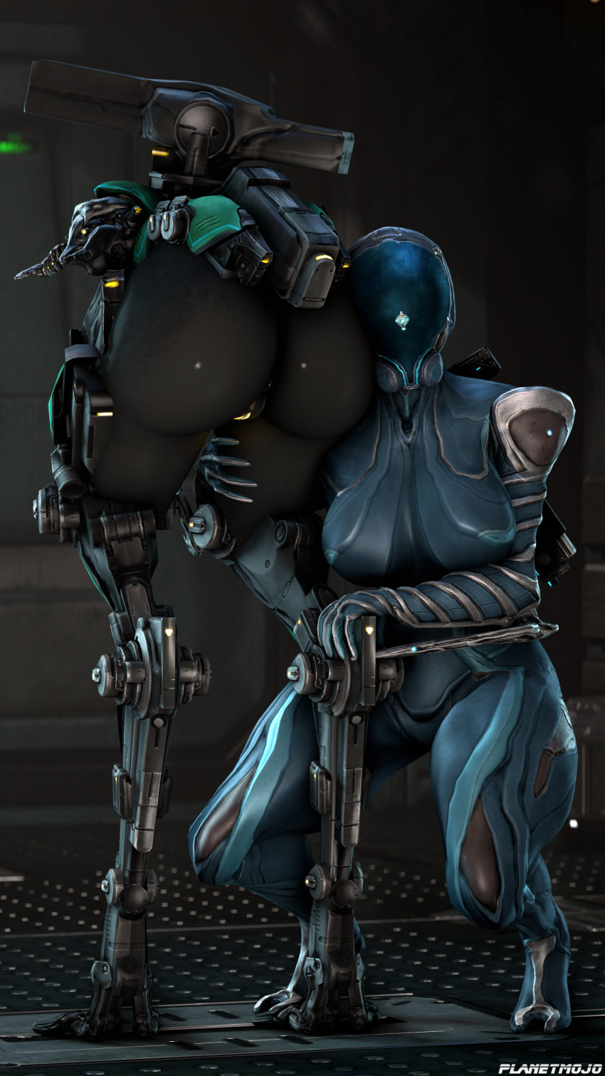 get to mag where warframe Planet of the apes